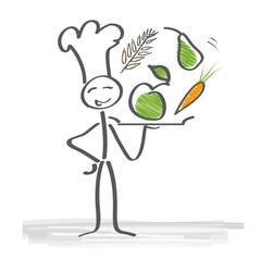 Vegetarische Küche, gesunde Ernährung