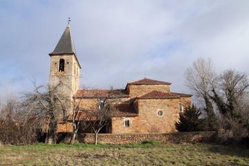 Iglesia de Priaranza de la Valduerna, León.