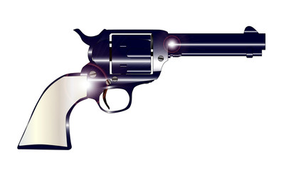 Pearl Handled Revolver