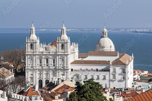 Leinwanddruck Bild Sao Vicente de Fora Monastery