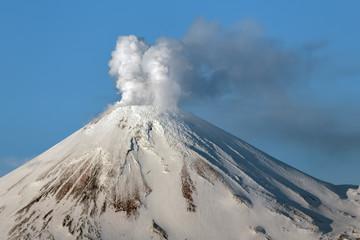 Landscape of Kamchatka: Avachinsky Volcano