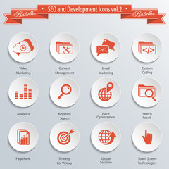 SEO and Development icons vol 2.