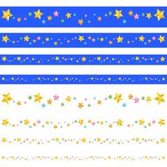 星スパンコールのライン