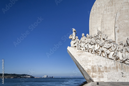 Leinwanddruck Bild Padrao dos Descobrimentos, Lisbon