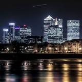 Canary Wharf at twilight - 61942083