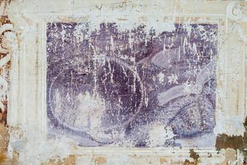 Affresco, sfondo con trama di muro antico