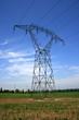 Strommast in Frankreich