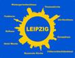 Karte Leipzig Wahrzeichen