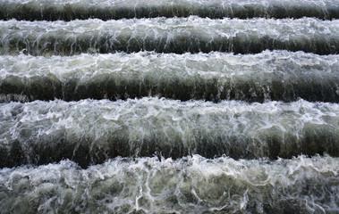 Водяные ступеньки.