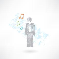 Music man grunge icon