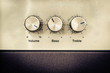 Sound volume controls in vintage style - 61946245