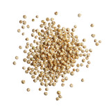 Quinoa seeds isolated on white background