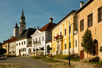 Main square in Kremnica
