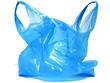Leinwanddruck Bild - Plastiktüte