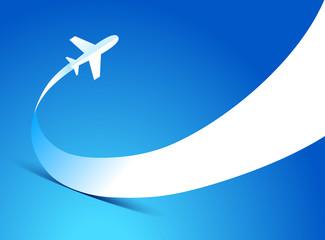 airplane flight tickets air fly travel takeoff silhouette elemen