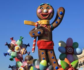 Carnaval du Nice. Roi de la Castronomie 2014
