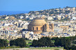 world-famous cathedral in Mosta,Malta
