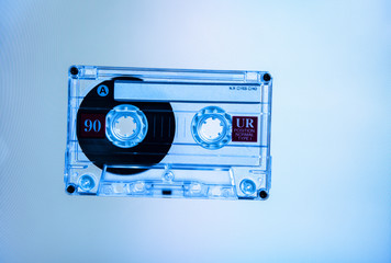 blue cassette
