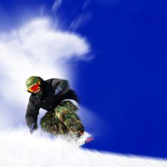 snowboarder zoom