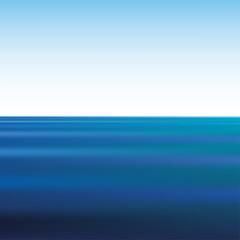 гладь воды на бесконечном океане