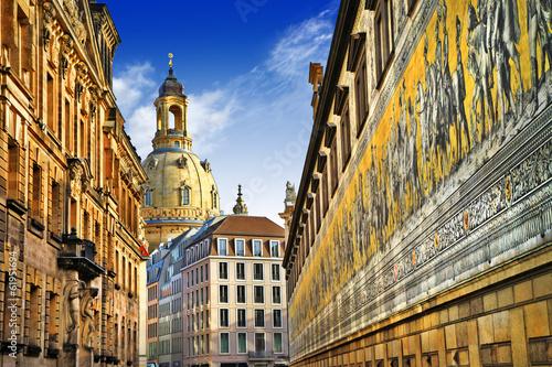 beautiful elegant Dresden, Germany - 61951694
