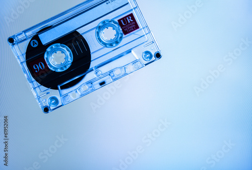 cassette blue screen