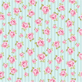 vintage flowers seamless pattern