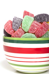 Holiday gumdrop candies