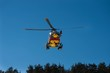 Hélicoptère se secours aux personnes.