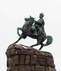 Monument to Hetman Bogdan Khmelnitsky. Kiev