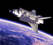 Space Shuttle In Space - 61956471