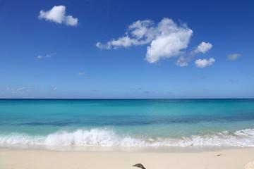 Urlaub, Strand, Ferien und Meer
