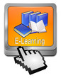 E-Learning Button mit Cursor