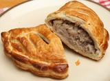 Cornish Pastie on Plate