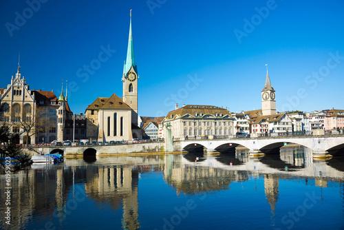 canvas print picture Zürich