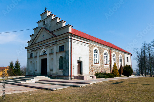 Church of Saint Wojciech in Poryte Village, Podlachia, Poland