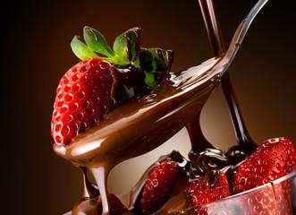 cioccolato e fragole