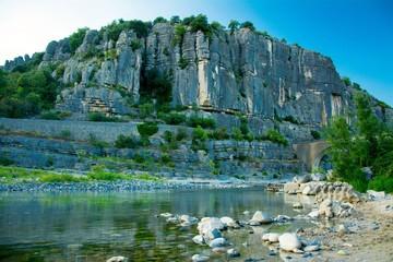 Gorges de l'Ardèche en France