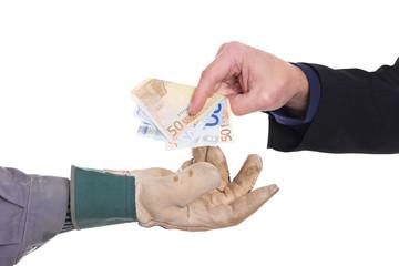 Konzept Bezahlung
