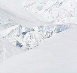 Ghiacciaio d'alta quota sul Monte Rosa