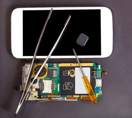 repair and maintenance of mobile devices
