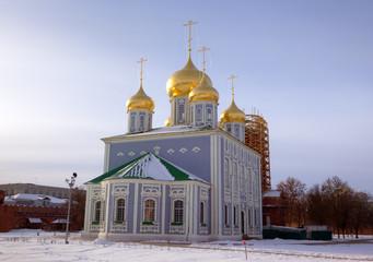 Assumption (Uspensky) Cathedral at territory of Kremlin. Tula, R