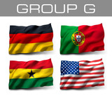 Brazil 2014 teams - Group G