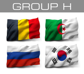 Brazil 2014 teams - Group H