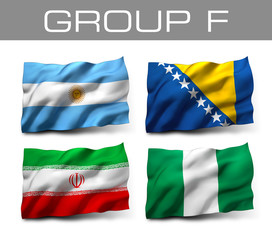 Brazil 2014 teams - Group F