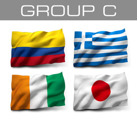 Brazil 2014 teams - Group C