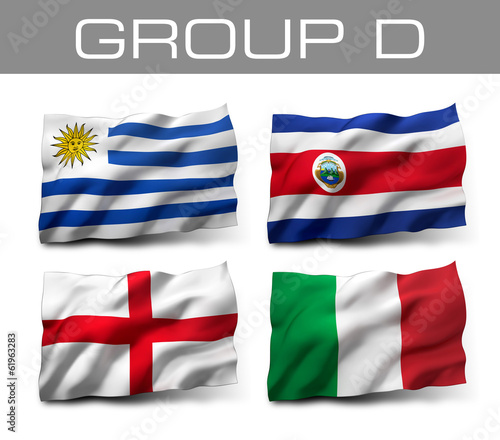 Brazil 2014 teams - Group D