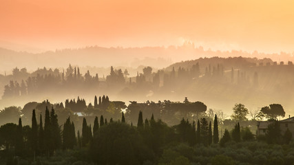 Tuscany Village Landscape