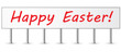 Red Happy Easter Billboard