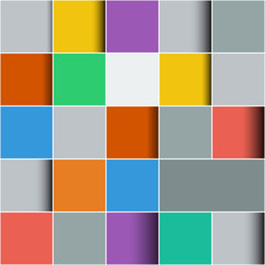 Background made of colorful squares